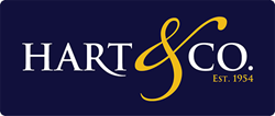 Hart and Co Estate Agents Footer Logo