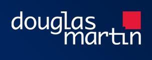 Douglas Martin Estate Agents Logo