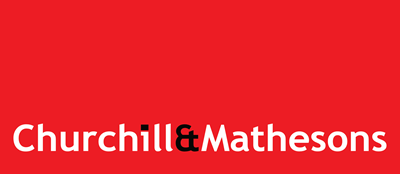 Churchill Mathesons - Commercial Secondary Logo