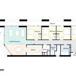 Type 1B Barbican flat