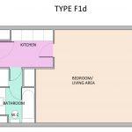 Type F1D Barbican flat