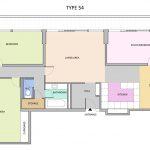 Type 54 Barbican flat