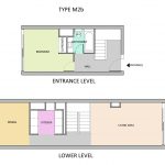 Type M2B Barbican flat