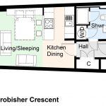 Type 8.3 Frobisher Crescent Barbican flat