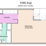 Type P1D Barbican flat