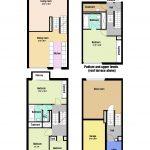 Wallside Barbican mews house