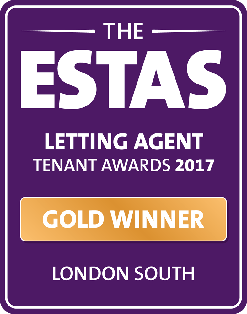 The ESTAs gold winner for letting agent of the year awards