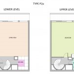 Type P2A Barbican flat