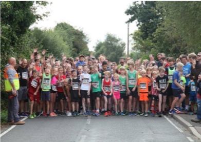 Langham Fun run, sponsored by Palmer and Partners, Colchester Estate Agents.