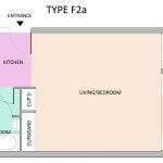 Type F2A Barbican flat