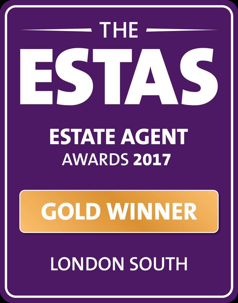 Gold winner for the Esta Estate Agent awards