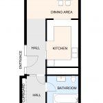 Type 16 Barbican flat