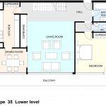 Type 35 Barbican flat