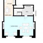 Type 51 Barbican flat