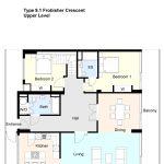 Type 9.1 Frobisher Crescent Barbican flat
