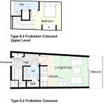 Type 9.2 Frobisher Crescent Barbican flat