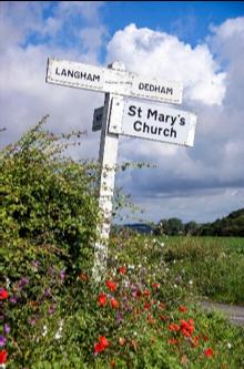Langham, Essex. Rural Village.