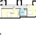 Type 4A Barbican flat