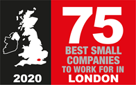 75 Best small companies to work for in London 2020
